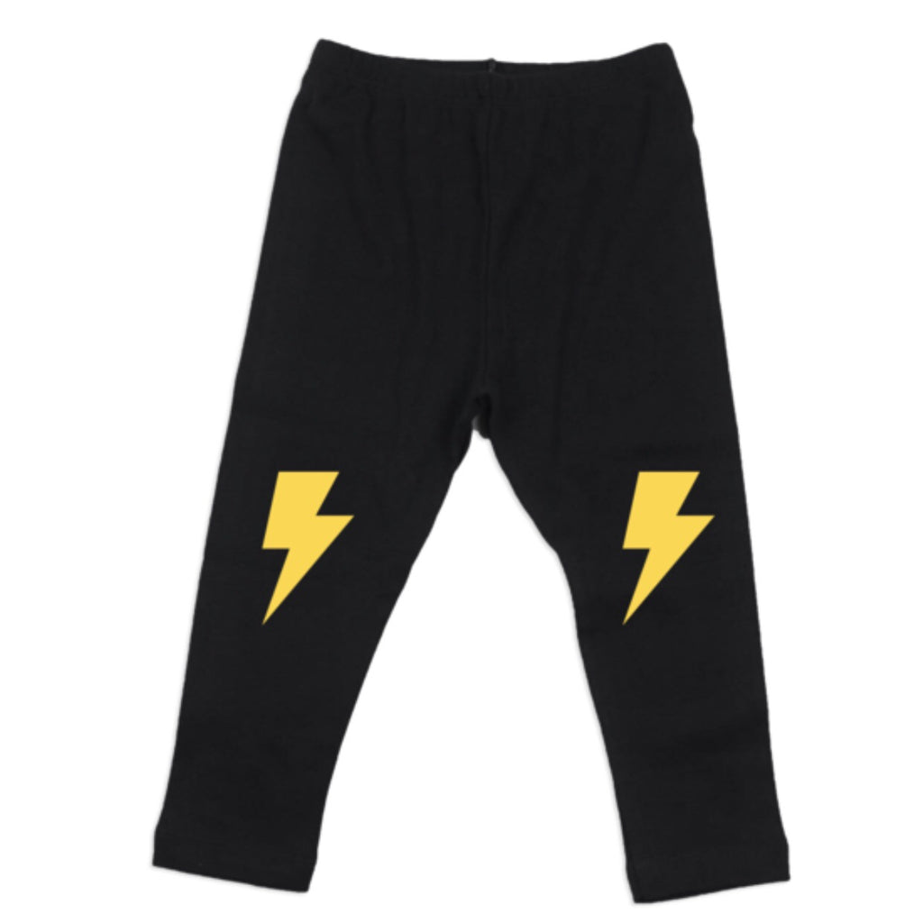 Lightning Bolt Leggings - Little Bean + Co