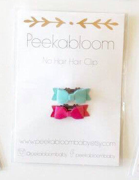 No Hair-Hair Clip Limited Edition - Little Bean + Co