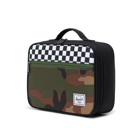 Black Check Camo Lunch Kit