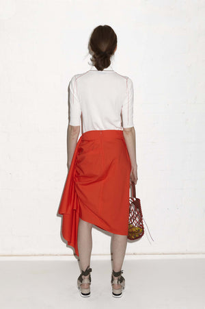 ALISSA SKIRT (ORANGE)