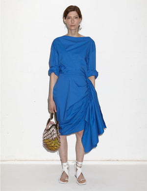 MONLEON DRESS A (ROYAL BLUE)