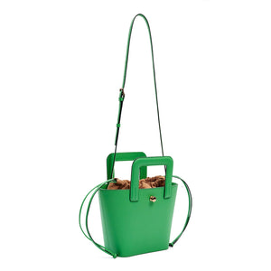 ROMY BAG (GREEN/ BEIGE)