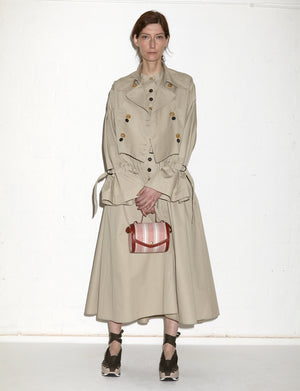 GIOVANNA TRENCHCOAT A (BEIGE)