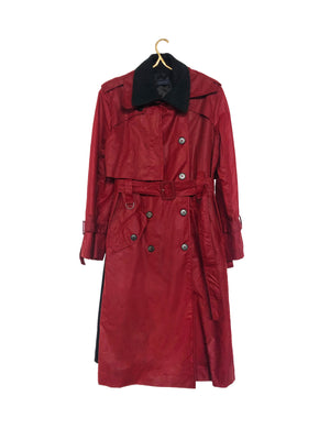RAY TRENCH COAT (RED)