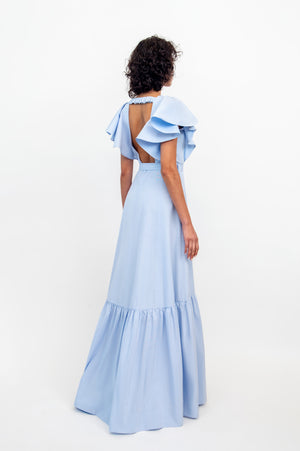 JULIA DRESS SKY BLUE