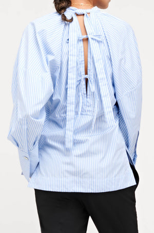 HILMA SHIRT BLUE/WHITE