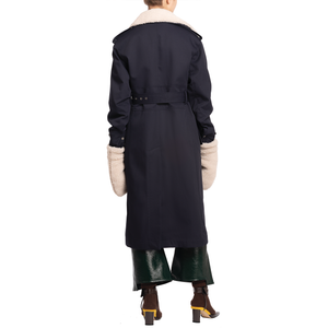 MITCHELL TRENCHCOAT (NAVY)