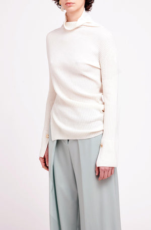 NICOLA KNIT OFF WHITE