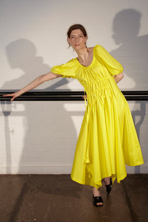 PINA DRESS YELLOW