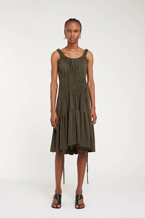 JENNIFER DRESS KHAKI