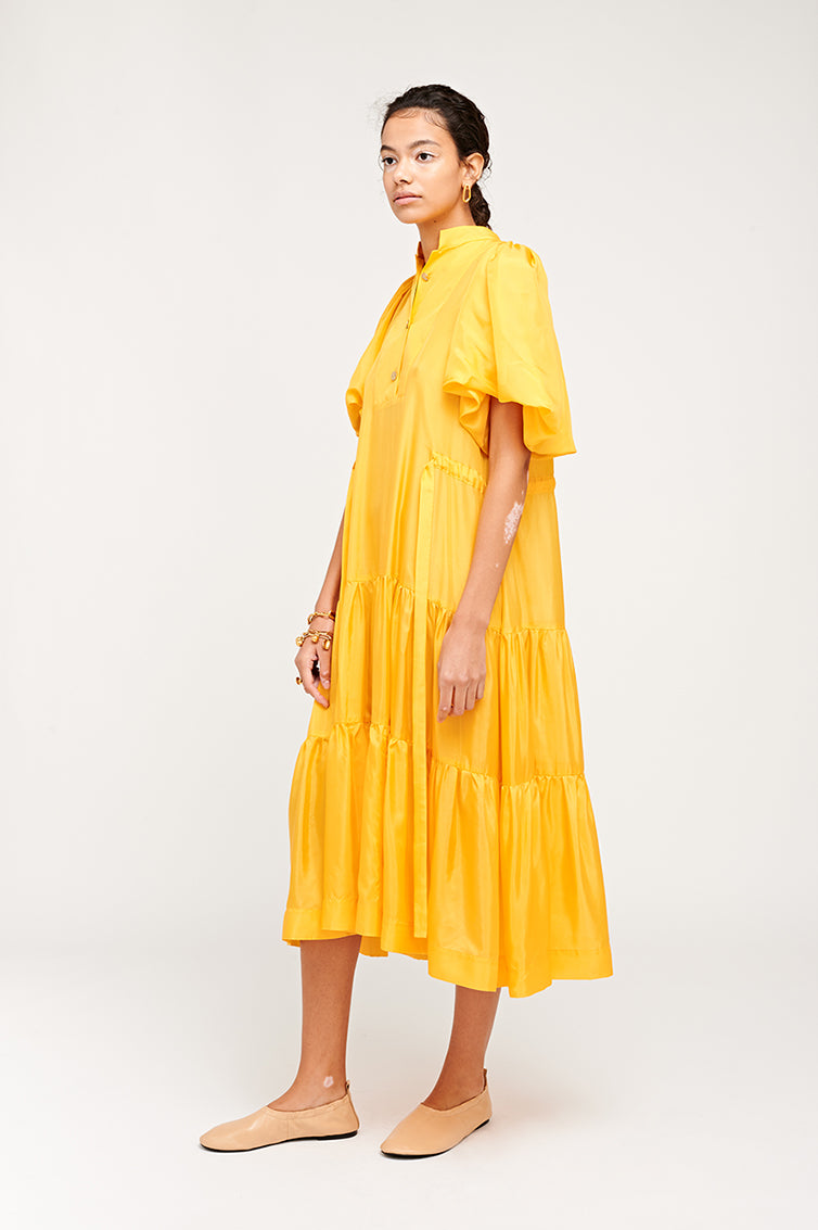 MEREDITH DRESS YELLOW