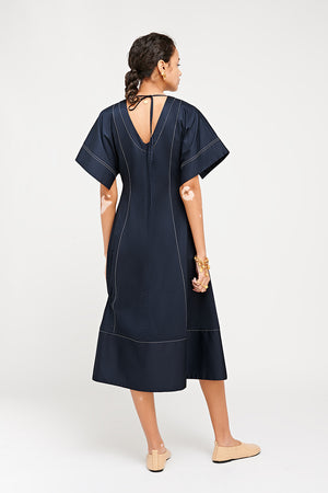 RIE DRESS NAVY