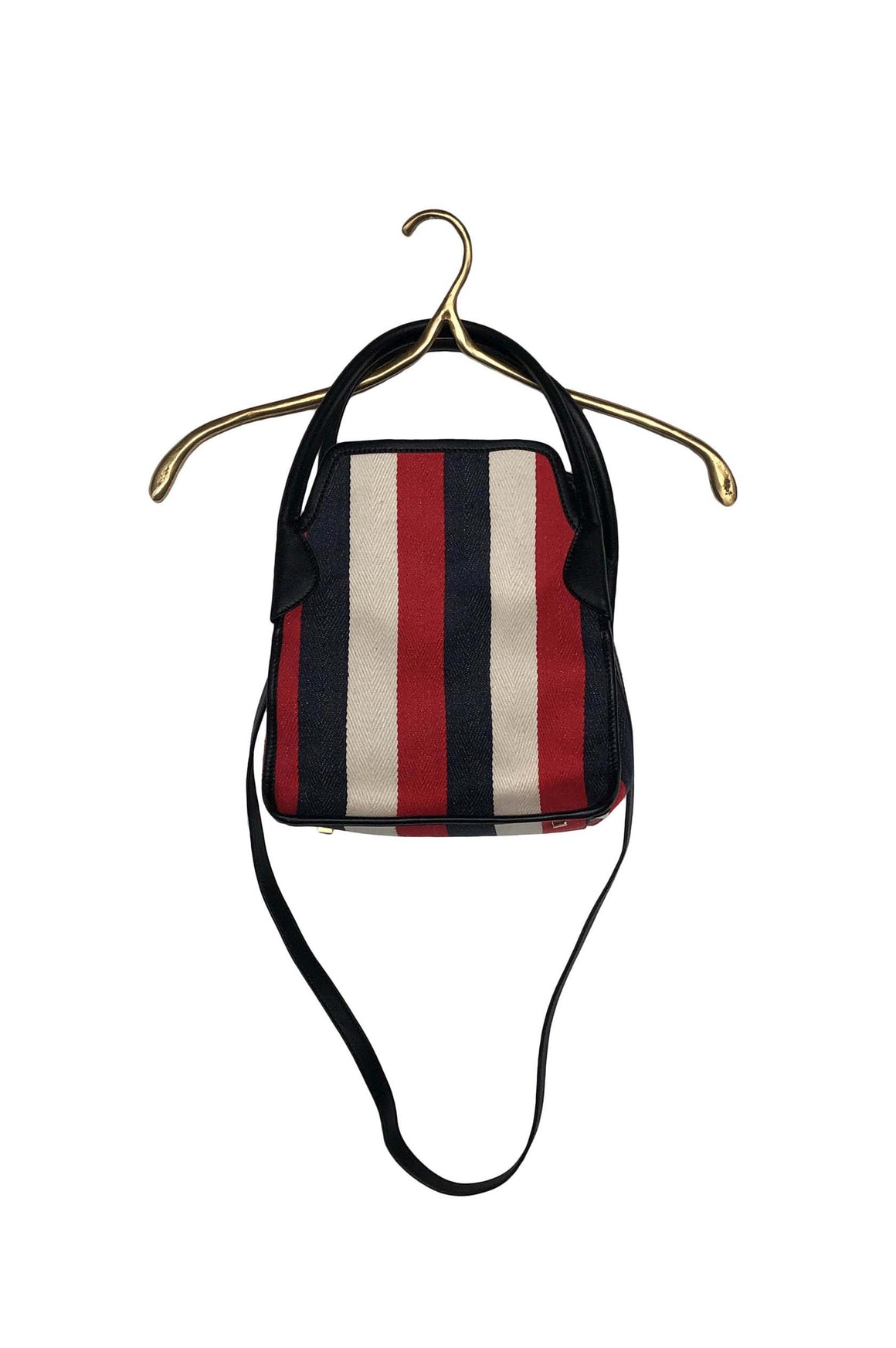 HAZEL BAG (RED STRIPE)