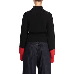 WALLIS JUMPER (BLACK/RED)