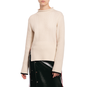ANNIKA JUMPER (OFF-WHITE/BLACK)