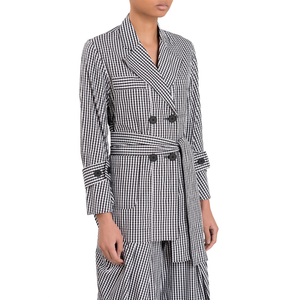 DELAUNEY JACKET (BLACK & WHITE GINGHAM)