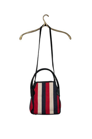 HAZEL BAG RED STRIPE