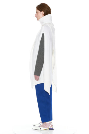 CLAUDIA CAPE (WHITE)