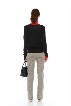 BRIGITTE JUMPER (BLACK/ORANGE)