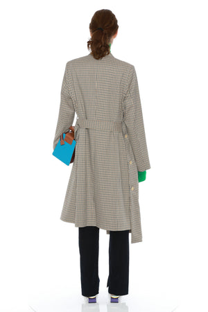 KAHN COAT C (WOOL CHECK)