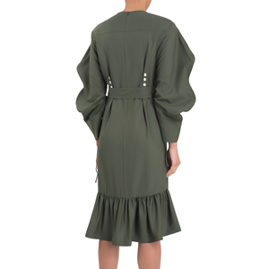 LUCIE DRESS (GREEN)