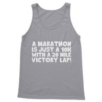 Marathon 10K With A 20 Mile Victory Lap Classic Women's Tank Top