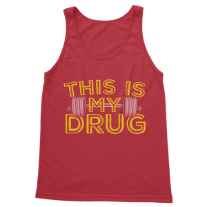 This Is My Drug Weightlifting Classic Adult Tank Top