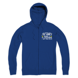 The Weak Need Not Apply Being a Teacher Aint No 9 to 5 Premium Adult Zip Hoodie