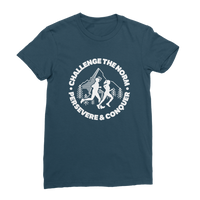 Challenge The Norm Running Logo Classic Women's T-Shirt