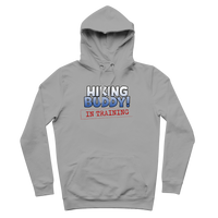 Hiking Buddy In Training Premium Adult Hoodie