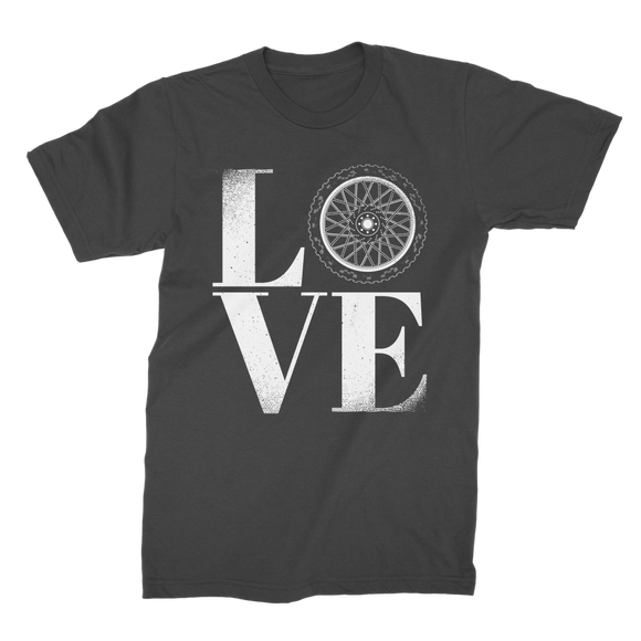 Love Biker Premium Jersey Men's T-Shirt