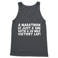 Marathon 10K With A 20 Mile Victory Lap Classic Adult Vest Top