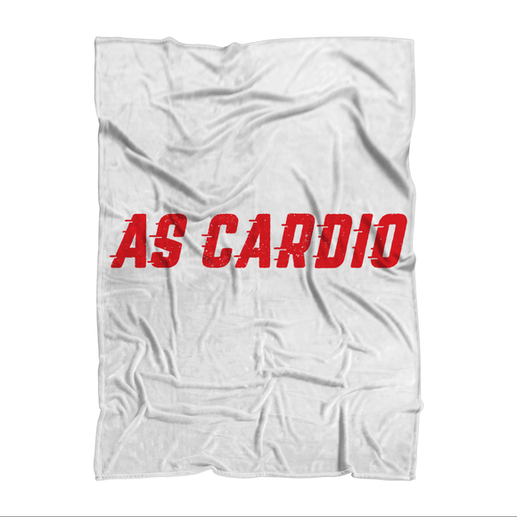 A Beer Run Counts As Cardio Right? Sublimation Adult Blanket