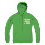 Can Someone Get Trucker a Beer! Premium Adult Hoodie