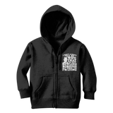 I Don't Always Tell My Wife That I'M Not Bowling This Weekend But When I Do I'M Lying Classic Kids Zip Hoodie