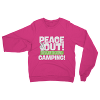 Peace Out This Guy is Going Camping! Classic Adult Sweatshirt
