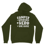 Camper + Adventurer + Hero = Girl Guide Classic Adult Hoodie