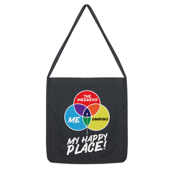 Camping is My Happy Place Classic Tote Bag