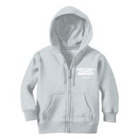 Where Would I Be Without Surfing? Classic Kids Zip Hoodie