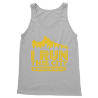 I Run This City One Mile At A Time Classic Adult Tank Top