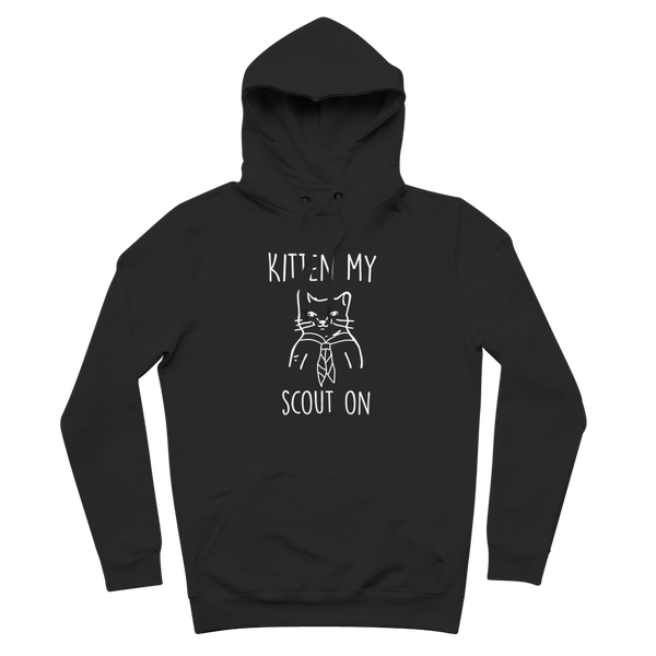 Kitten My Scout On Premium Adult Hoodie