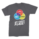 Camping is My Happy Place Premium Jersey Men's T-Shirt