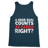 A Beer Run Counts As Cardio Right? Classic Women's Tank Top