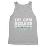 The Gym Solves Everything! (Trust Me!) Classic Women's Tank Top
