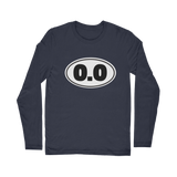 0.0 Funny Running Classic Long Sleeve T-Shirt