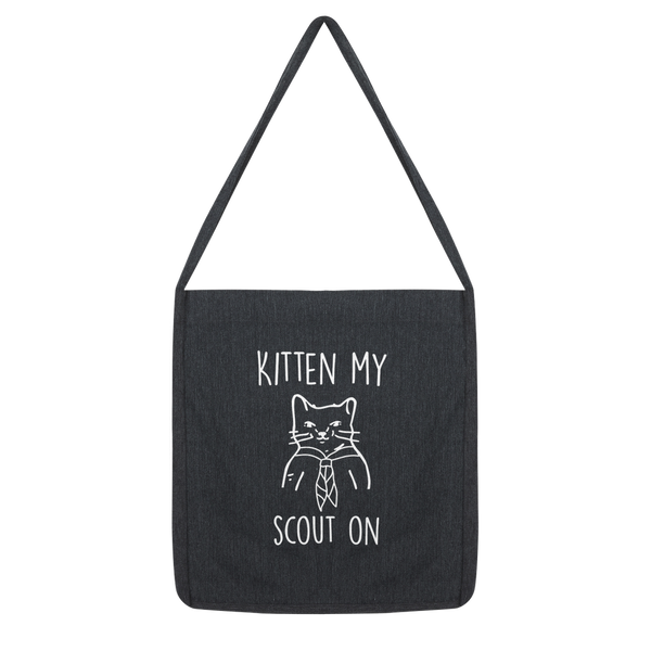 Kitten My Scout On Classic Tote Bag