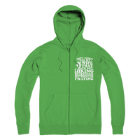 I Don't Always Tell My Wife That I'M Not Hiking This Weekend But When I Do I'M Lying Premium Adult Hoodie