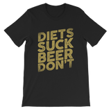 Diets Suck Beer Don't Classic Kids T-Shirt
