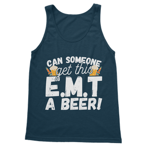 Can Someone Get This E.M.T a Beer! Classic Women's Tank Top