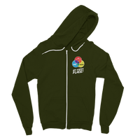 Hiking is My Happy Place Classic Adult Zip Hoodie